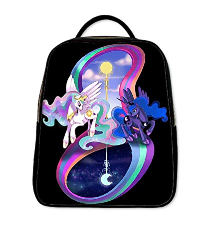 Fashional Causul Backpack School Bag Travel Bag with Celestia Pattern