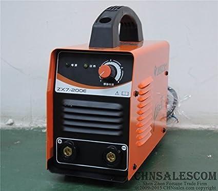 CHNsalescom JASIC ZX7-200E IGBT 220V MMA ARC Welding Machine