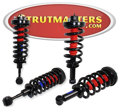 Strutmasters 4 Wheel Air Suspension Conversion Kit for 2003-2006 Lincoln Navigator