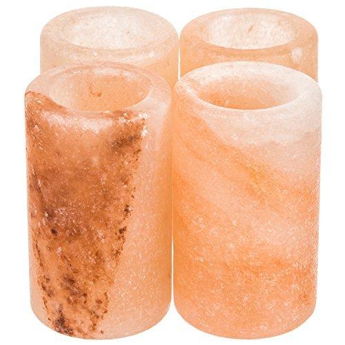 Cazul Goods Himalayan Salt Tequila Shot Glasses (4 -