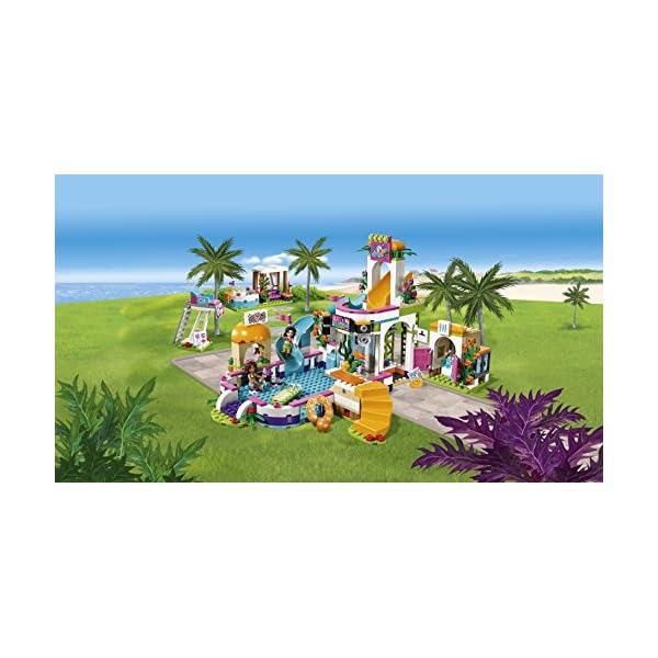 LEGO Friends La Piscina all'Aperto di Heartlake, Multicolore, 41313 5 spesavip
