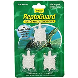 Tetra 19514 ReptoGuard Water Conditioner Block, 3-Count