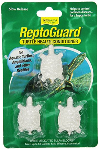 TetraFauna ReptoGuard Turtle Health Conditioner Block (Turtle Sulfa Block)
