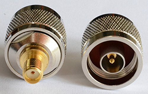 2pcs-high-value-n-male-to-sma-female-0-6g-vswr-below-13-adapter-connector-pure-copper