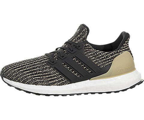 fa39ff6c40ab Galleon - Adidas Ultraboost 4.0 Shoe - Junior s Running 6.5 Core Black Raw  Gold