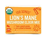 Kyпить Four Sigmatic Organic Mushroom Elixir Mix with Lion's Mane and Antioxidants for Concentration + Focus, Vegan, Paleo, Gluten Free, 0.1 Ounce (20 Count) на Amazon.com