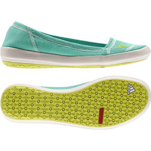 adidas Outdoor Damen Slip-On Slim Water Shoe Bahia Mint / Bahia Glow / Kreide
