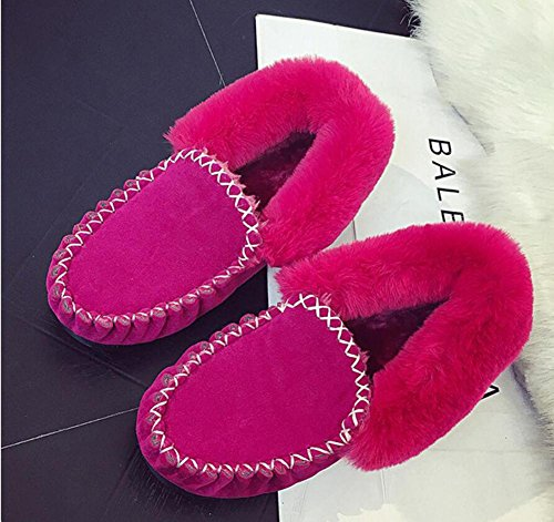 NSXZ Winter shoes snow boots bean shoes and plush short boots ROSERED-7660CM WQhHL