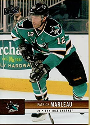 Hockey NHL 2012-13 Upper Deck #153 Patrick Marleau Sharks
