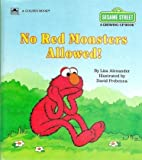 No Red Monsters Allowed!, Liza Alexander, 0307120511