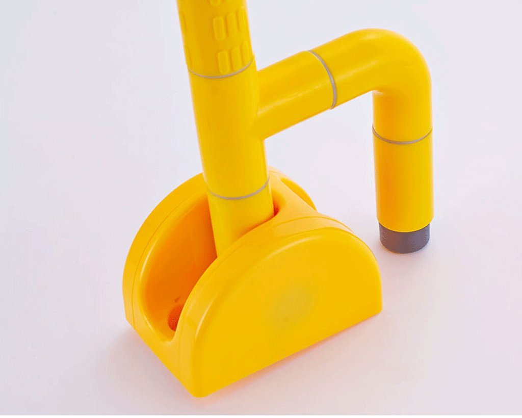 Elderly toilet armrests Accessible bathroom foldable overturned safety handrail with spring ( Color : Yellow ) by LI SHI XIANG SHOP (Image #6)