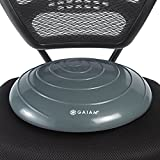 Gaiam Balance Disc Wobble Cushion Stability Core Trainer Home Office Desk Chair & Kids Alternative Classroom Sensory Wiggle Seat