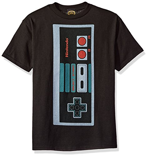 - Nintendo Little Boys Classic Big Controller Graphic T-shirt, black, YM