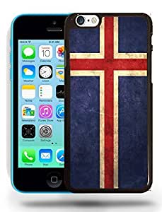 Iceland National Vintage Flag Phone Case Cover Designs for iPhone 5C