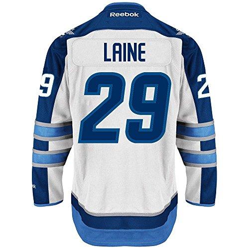 Player Reebok White (Patrick Laine 2016-17 Winnipeg Jets White REEBOK NHL Premier Player Jersey Men's)