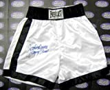 Autograph Warehouse 86368 Jake Lamotta Autographed Boxing Trunks Inscribed Raging Bull
