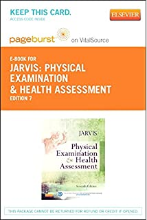 Physical examination and health assessment and elsevier adaptive physical examination and health assessment elsevier ebook on vitalsource retail access card fandeluxe Image collections