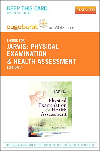 Physical Examination and Health Assessment - Elsevier eBook on VitalSource (Retail Access Card), 7e by Saunders