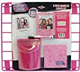 Magnetic Locker Set 5 Pc (Pink) by Locker Lounge