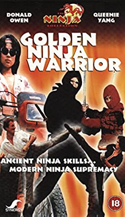 Golden Ninja Warrior [Francia] [VHS]: Amazon.es: Donald Owen ...