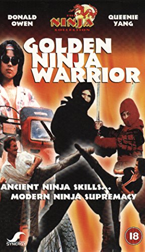 Golden Ninja Warrior [Francia] [VHS]: Amazon.es: Donald Owen ...