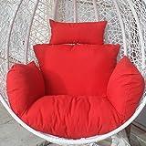 Outdoor/Indoor Wicker Chair Cushion Rocking Chair Cushion Swing Thicken Cushion Suitable for Wicker/Hanging
