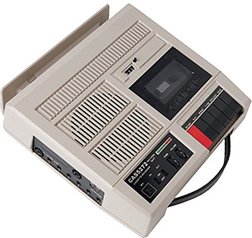 Califone CAS5272 Deluxe Cassette/Player Recorder, 10W RMS am