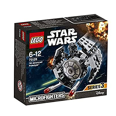 Lego Star Wars Microfighters Series TIE Advanced Prototype (75128): Toys & Games