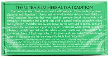 Triple Leaf Tea, Ultra Slim, 20 Tea Bags (Pack Of 6) 5