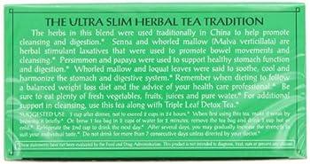 Triple Leaf Tea, Ultra Slim, 20 Tea Bags (Pack Of 6) 5