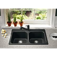 BLANCO VISION 210, Granite Composite Double Sink in SILGRANIT