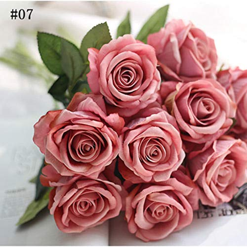 Dds5391 New 1Pc Artificial Fake Rose Flower Garden Home Wedding Bridal Party Decoration - 7# from dds5391
