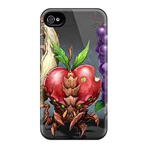 6 Scratch-proof Protection Cases Covers For Iphone/ Hot Evil Fruits Phone Cases