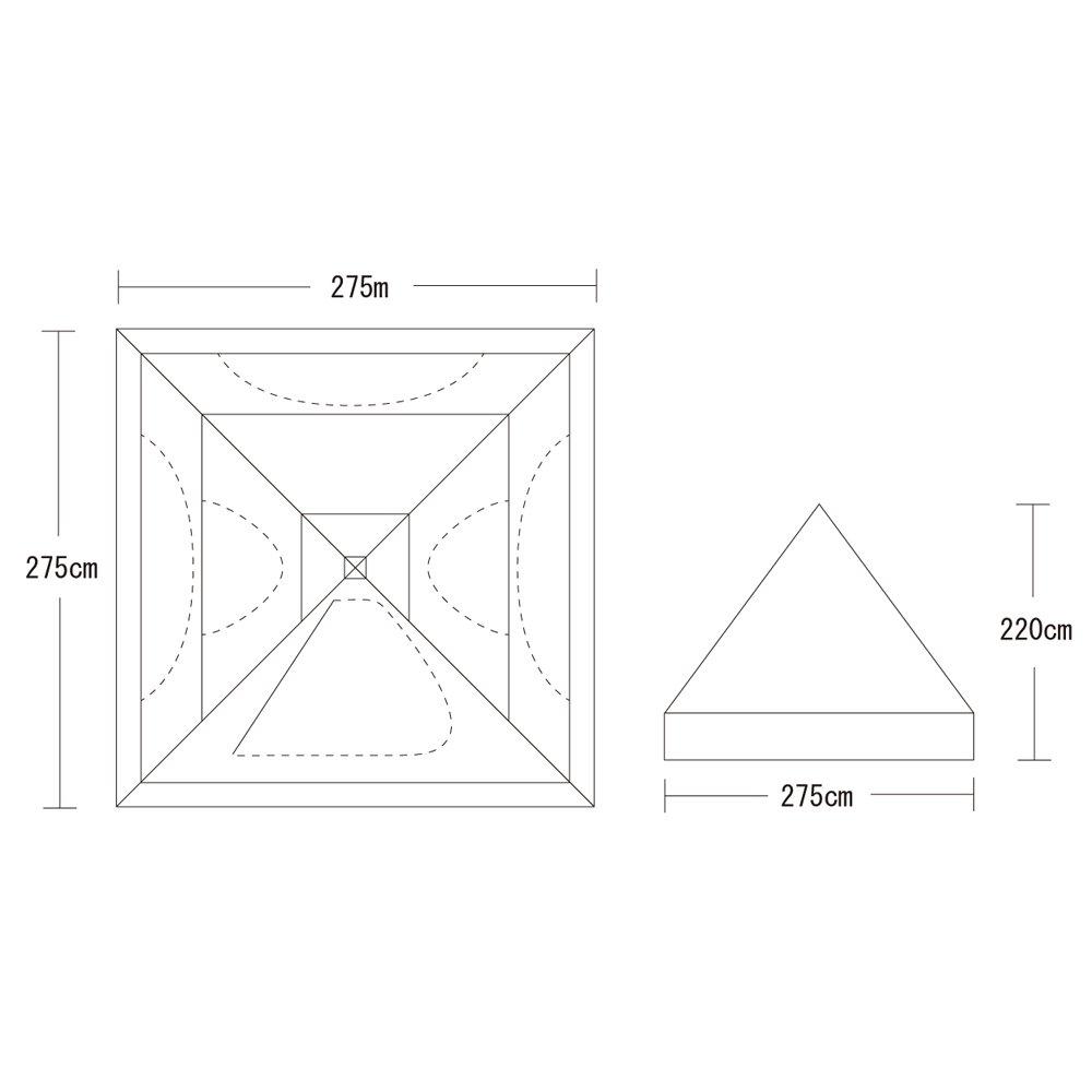 テンマクデザイン サーカス 300 用 フルインナーテント   B07FXDTFL4