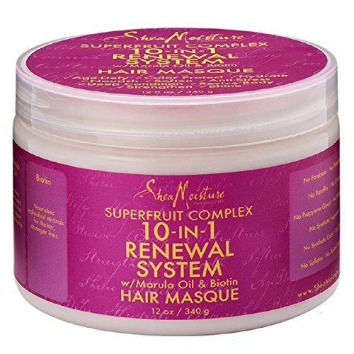 SheaMoisture SuperFruit Complex 10-in-1 Renewal System Hair Masque, 12 Ounce