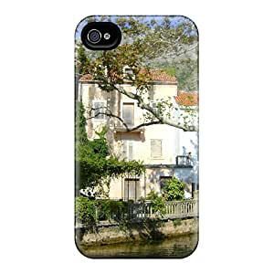 New House By The Stream Tpu Case Cover, Anti-scratch kevor Phone Case For Iphone 4/4s