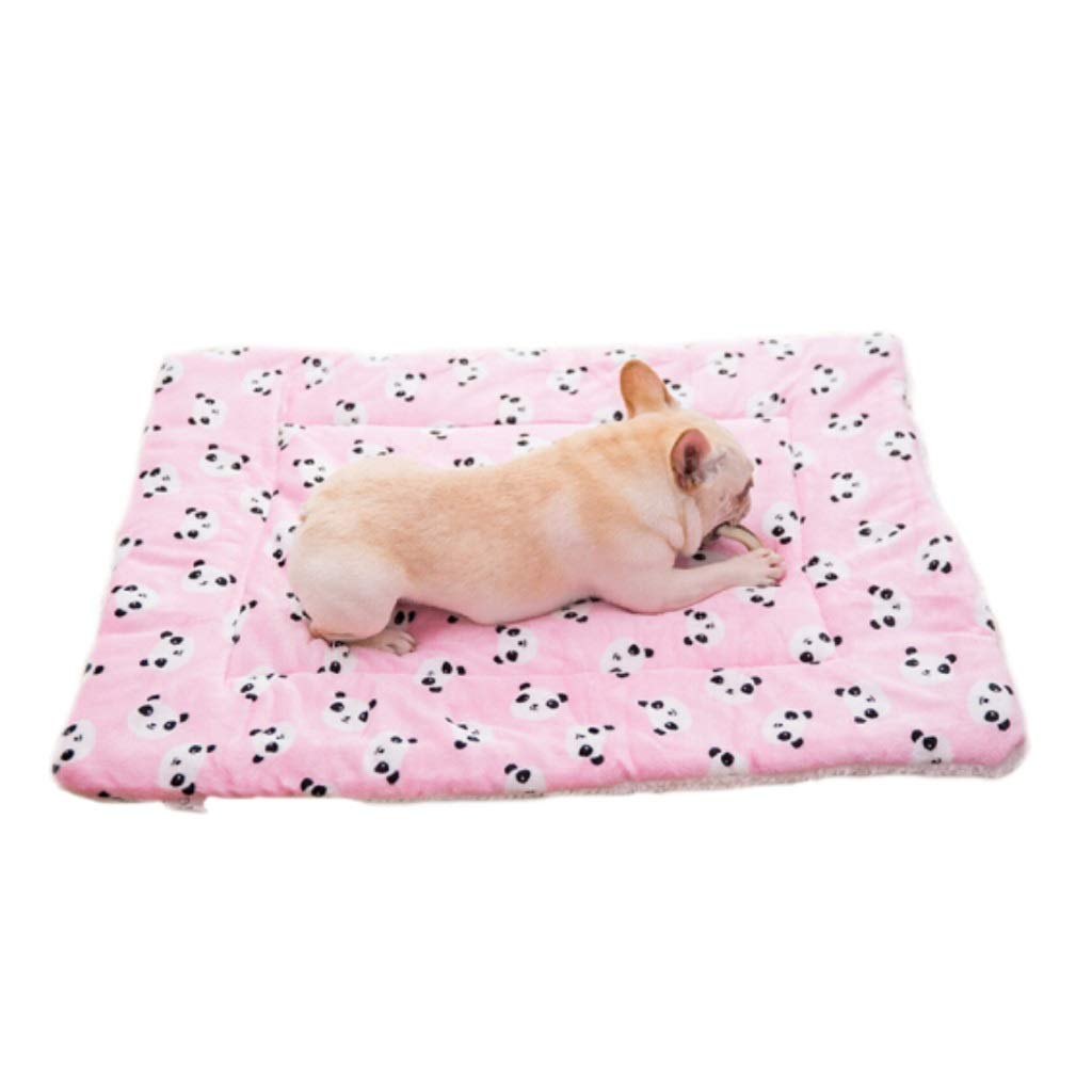 Pink XlMid West Deluxe Pet Bed Pet Mat Soft Pet Bed for Cats and Dogs, Small Dog Bed, Assorted colors and Sizes,Cuddly Pet Bed with Durable Fabrics (color   Pink, Size   XL)