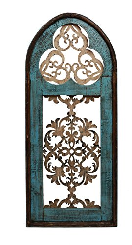 Cave Creek Gothic Architectural Window-21x47 21 Rustic Iron