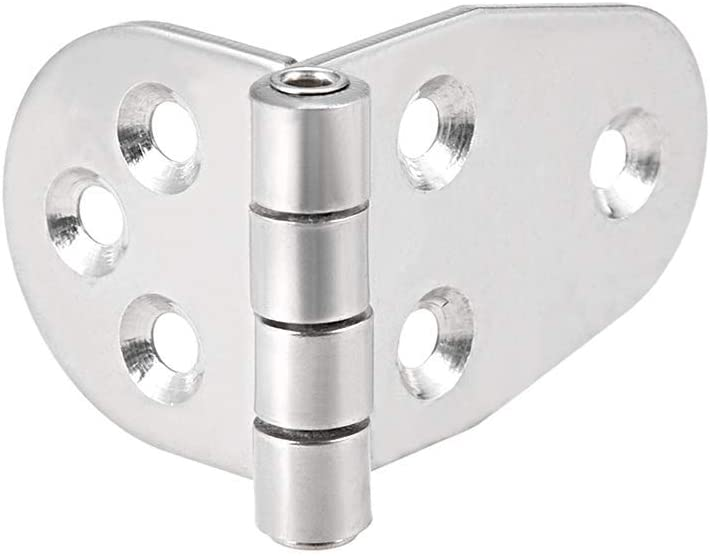 Hinges for doors with very thick hinges with T-strap 304 stainless steel total length 100 mm