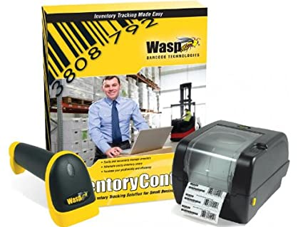 Amazon.com: Wasp Inventory Control Standard Software with WWS550i ...