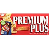 Premium Plus Salted Saltines, 450g