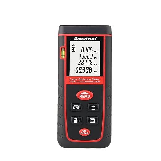 150 opinioni per Excelvan laser distanziometro / Telemetro, 0.05 to 60m (0.16 to 197ft), ad Alta