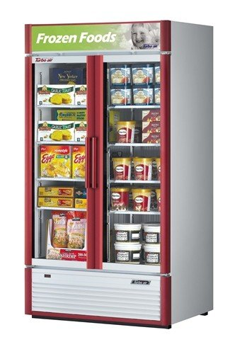 - Turbo Air TGF-35SD - 40-Inch Glass Door Freezer - Super Deluxe Series