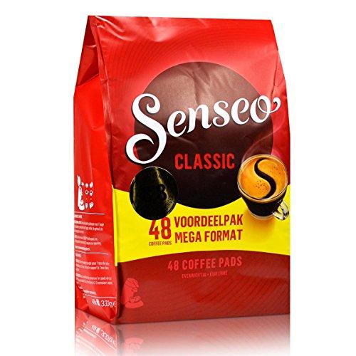 Senseo Classic Roast Coffee Pods 48-count - Coffee Cappuccino Senseo Pods