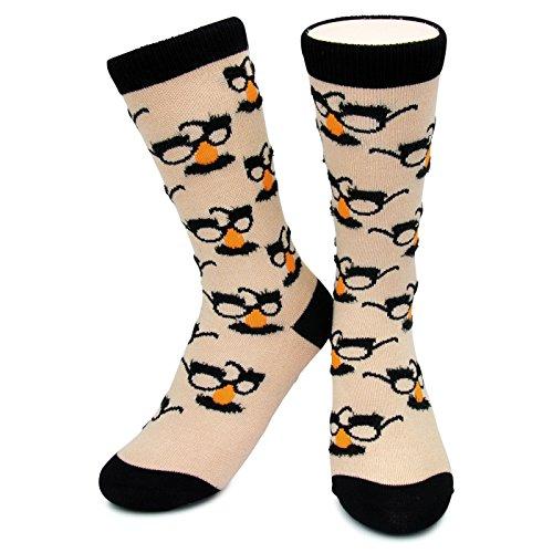 Humor Me Groucho Marx Socks Kids,Womens & Mens Novely, Funky, Crazy, Funny  Humor Me Medium