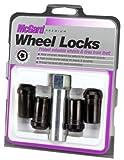 McGard 25340 Chrome/Black (1/2' - 20 Thread Size) Tuner Style Cone Seat Wheel Lock Set