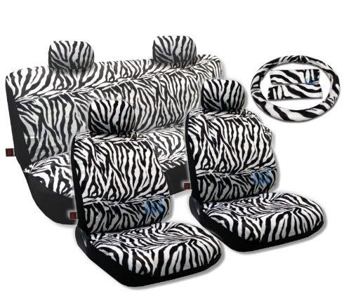 zebra car seat covers honda civic - 3