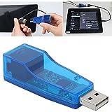 Technotech USB 2.0 to fast Ethernet 10/100 RJ45 Network LAN Adapter Card (Blue)