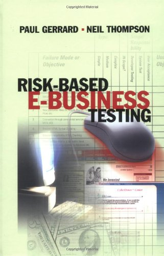 Risk Based E-Business Testing (Artech House Computer Library,)