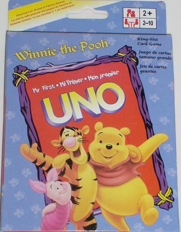Uno Card Game - Winnie The Pooh